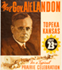 1936 Landon notification ceremony poster