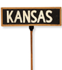 1936 Republican convention Kansas delegation sign