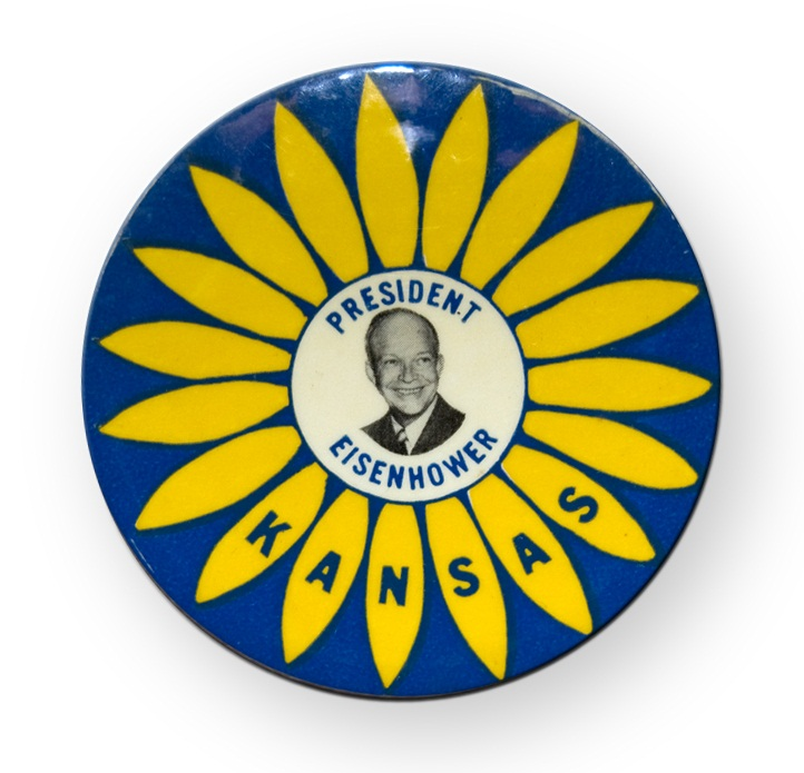 Eisenhower campaign button