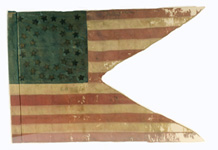 Seventh Kansas Cavalry guidon.