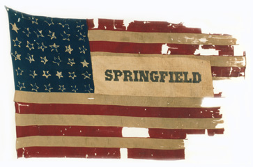 Second Kansas Infantry flag.