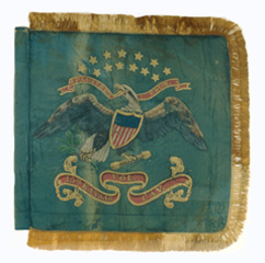 Fifteenth Kansas Cavalry guidon.