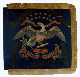 Standard of the Eleventh Kansas Cavalry.