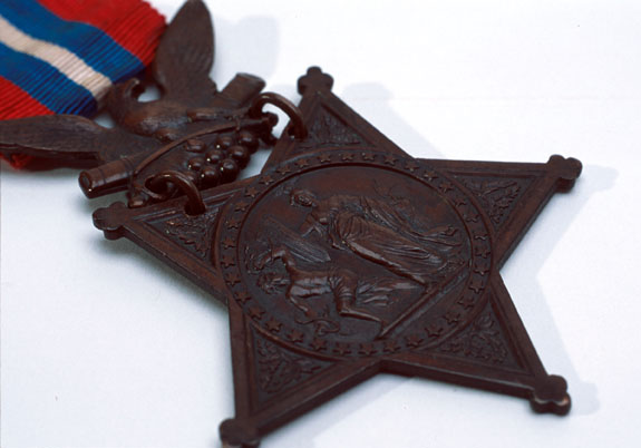 Civil War Medal  of Honor awarded to Private John Callahan.