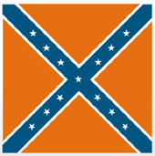 Graphical depiction of Army of Northern Virginia flag.