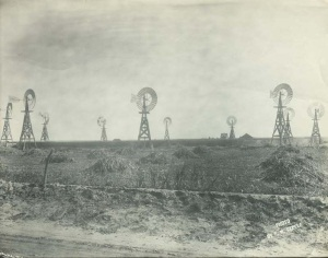 Seward County wind farm, 1910.