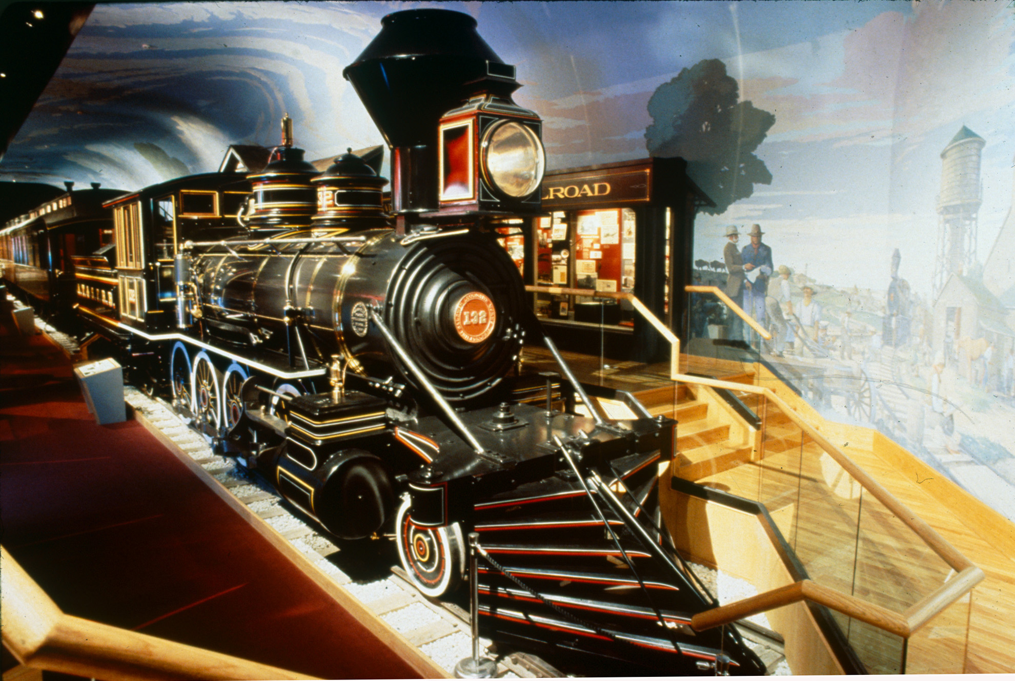 Cyrus K. Holliday 1980s Steam Locomotive, Kansas Museum of History