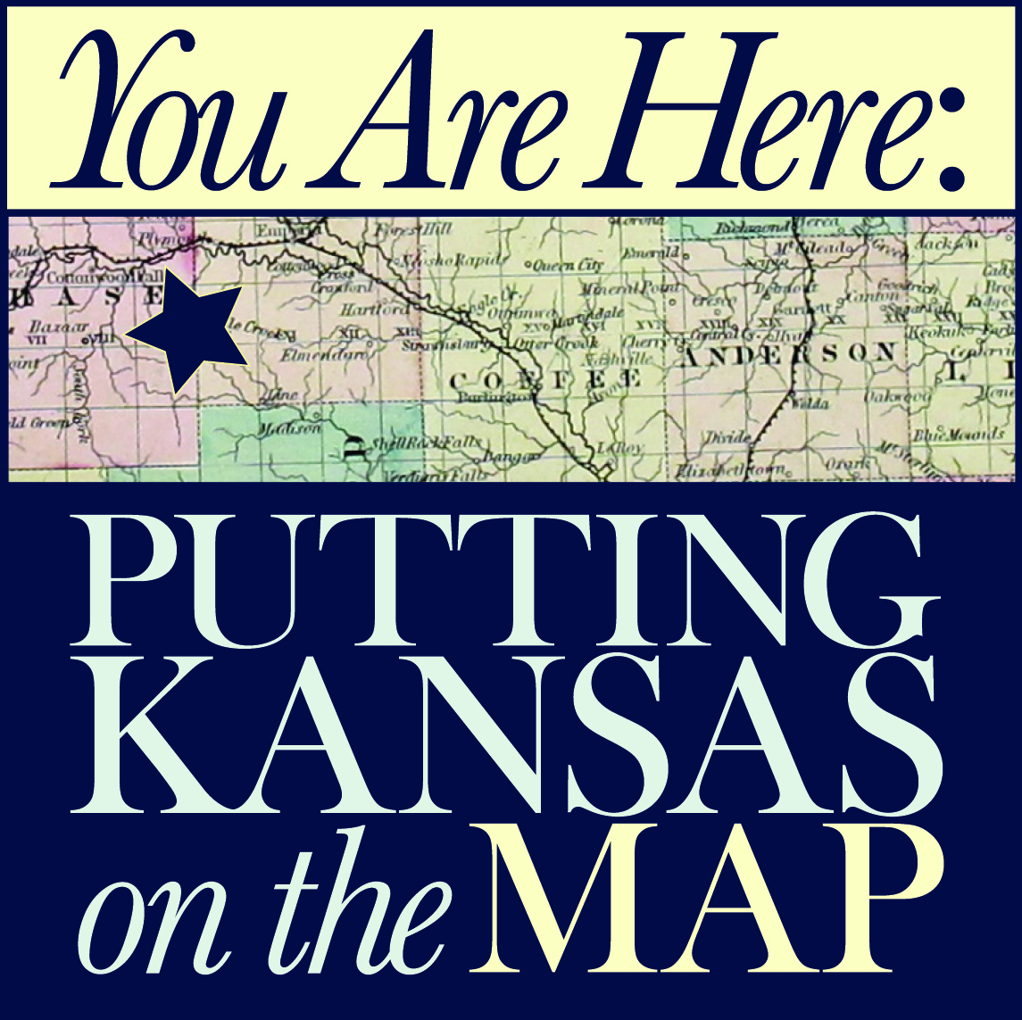 Your Are Here: Putting Kansas on the Map logo