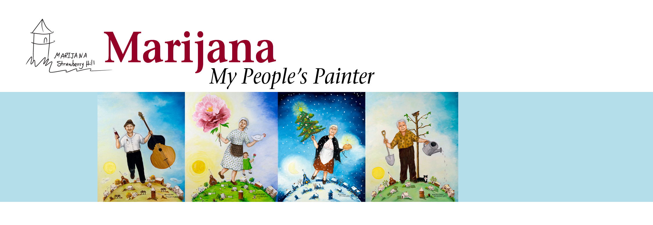 Marijana - My People's Painter exhibit