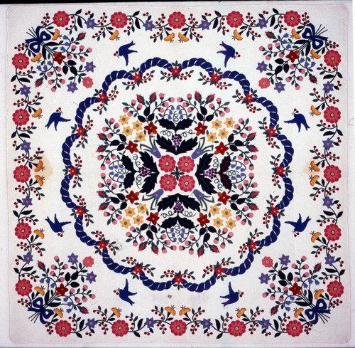 The Garden quilt.