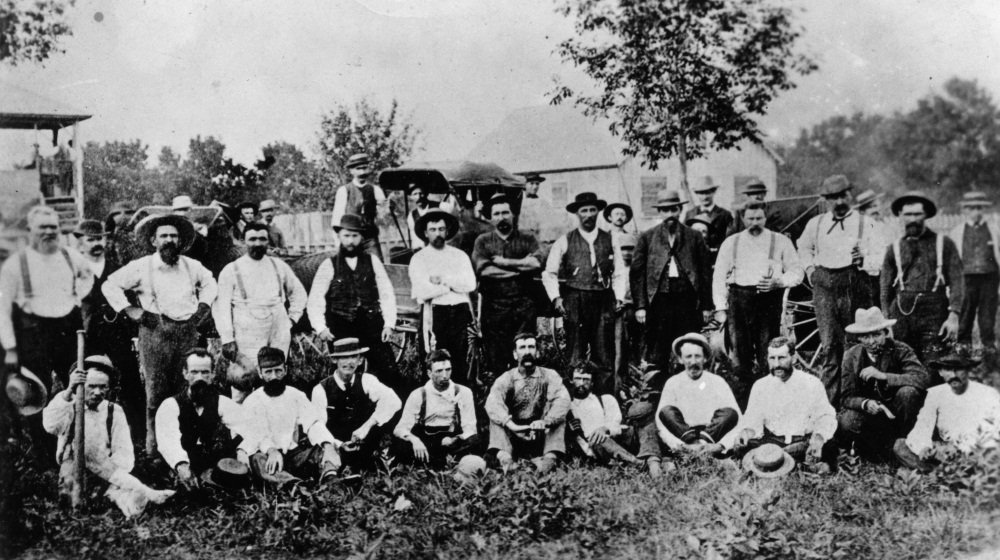 Marysville baseball team, 1884.