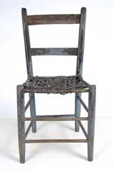 John Brown sat on this chair in a station on the Kansas Underground Railroad.