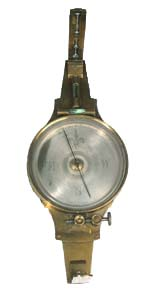 John Brown used this  surveyor's compass to spy on the movements of proslavery forces in  Kansas.
