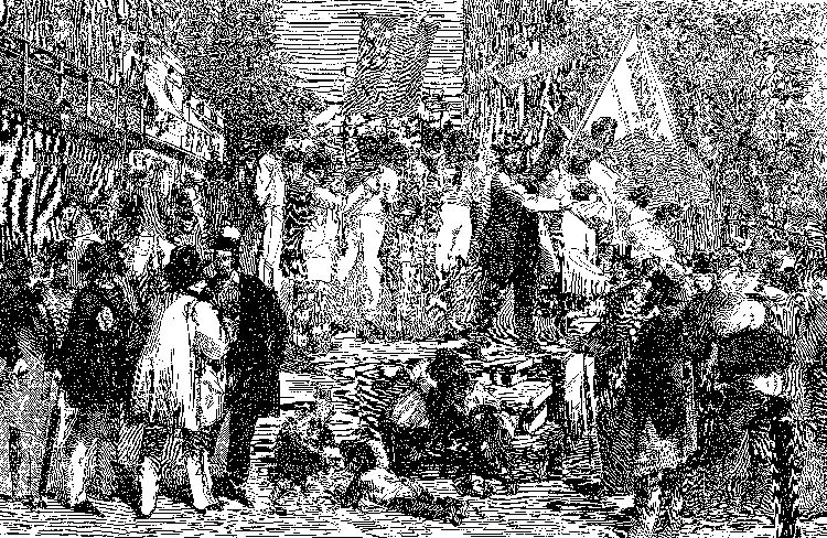 Slave auction, Harper's Weekly, July 31, 1861