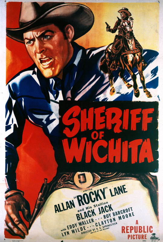 Movie  poster for Sheriff of Wichita (1949)