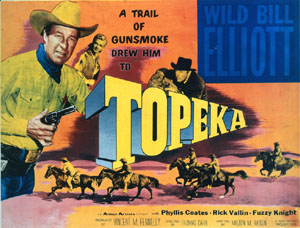 Poster for the movie Topeka  