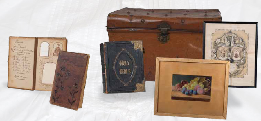 Immigrant's trunk and contents