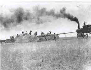 Threshing, 1920
