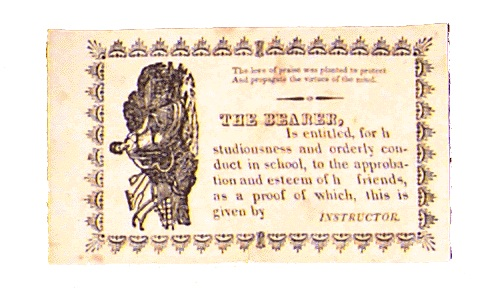 Reward of Merit card.