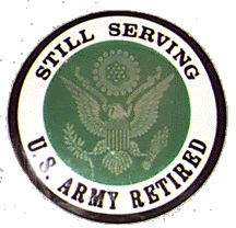 Retirement sticker.
