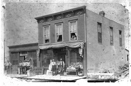 Waseca Post Office, 1877 or 1878