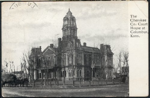 Cherokee County Courthouse, Columbus