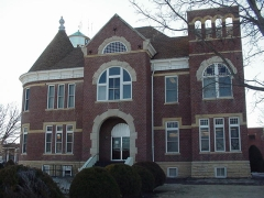 Rush County Courthouse, LaCrosse