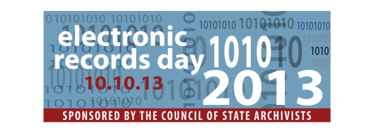 October 10th is Electronic Records Day!