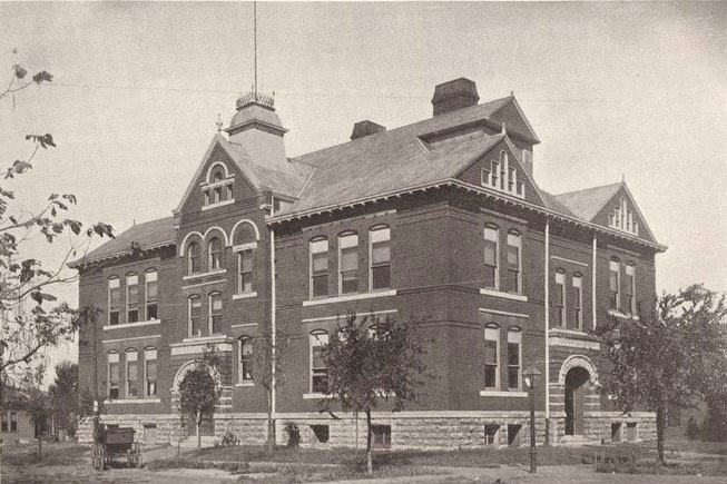 Central School Building, Pittsburg