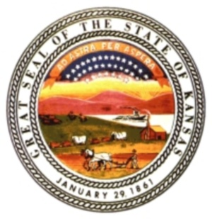 Image of the Great Seal of Kansas
