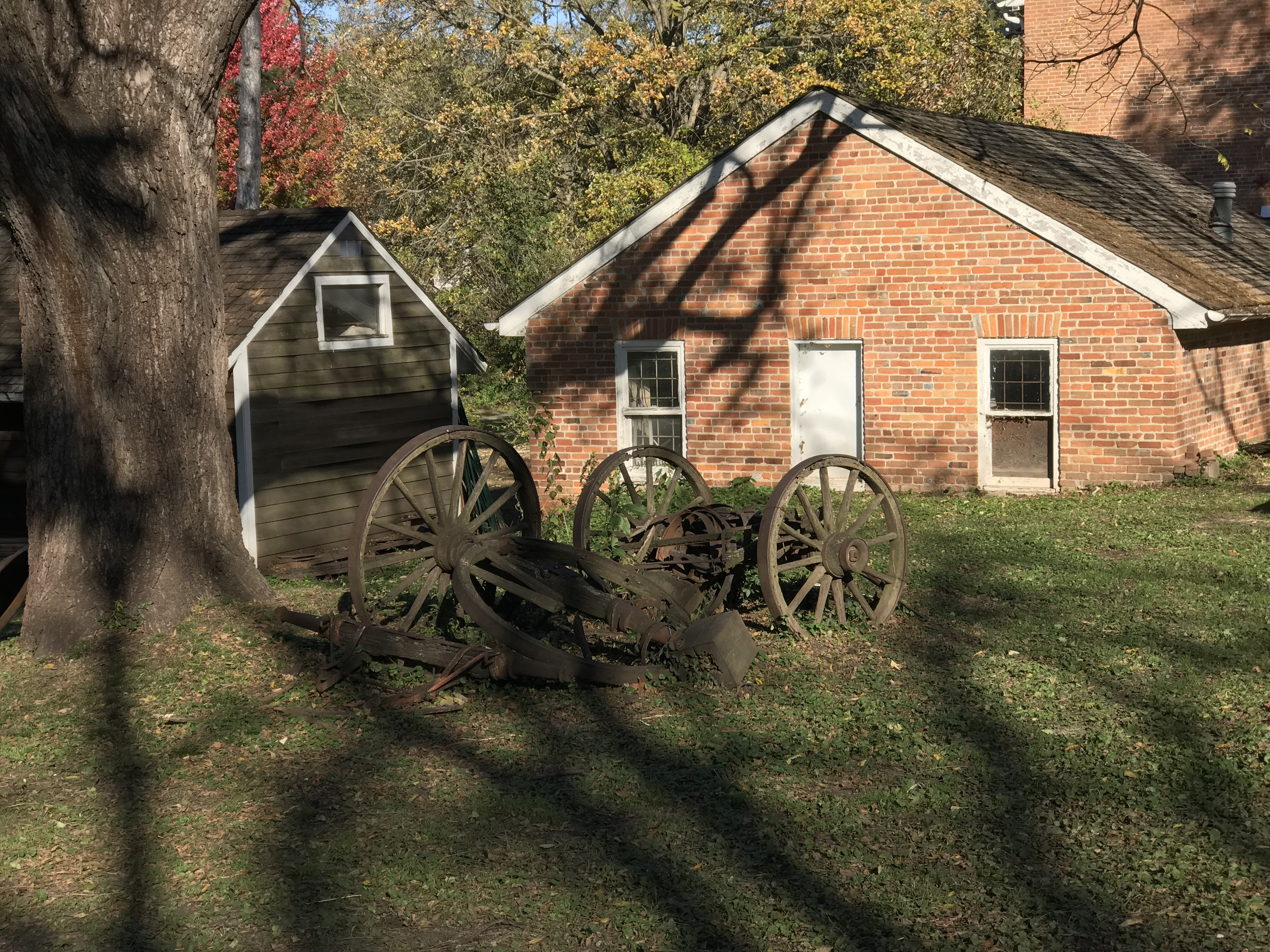 The Old Shawnee Mission Supply Wagon