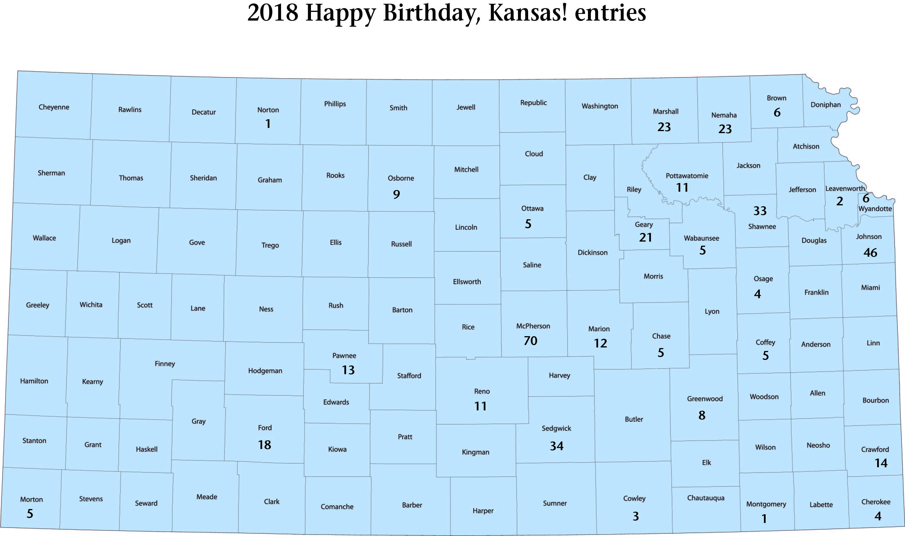 Happy Birthday, Kansas! Student Photo Contest Entries