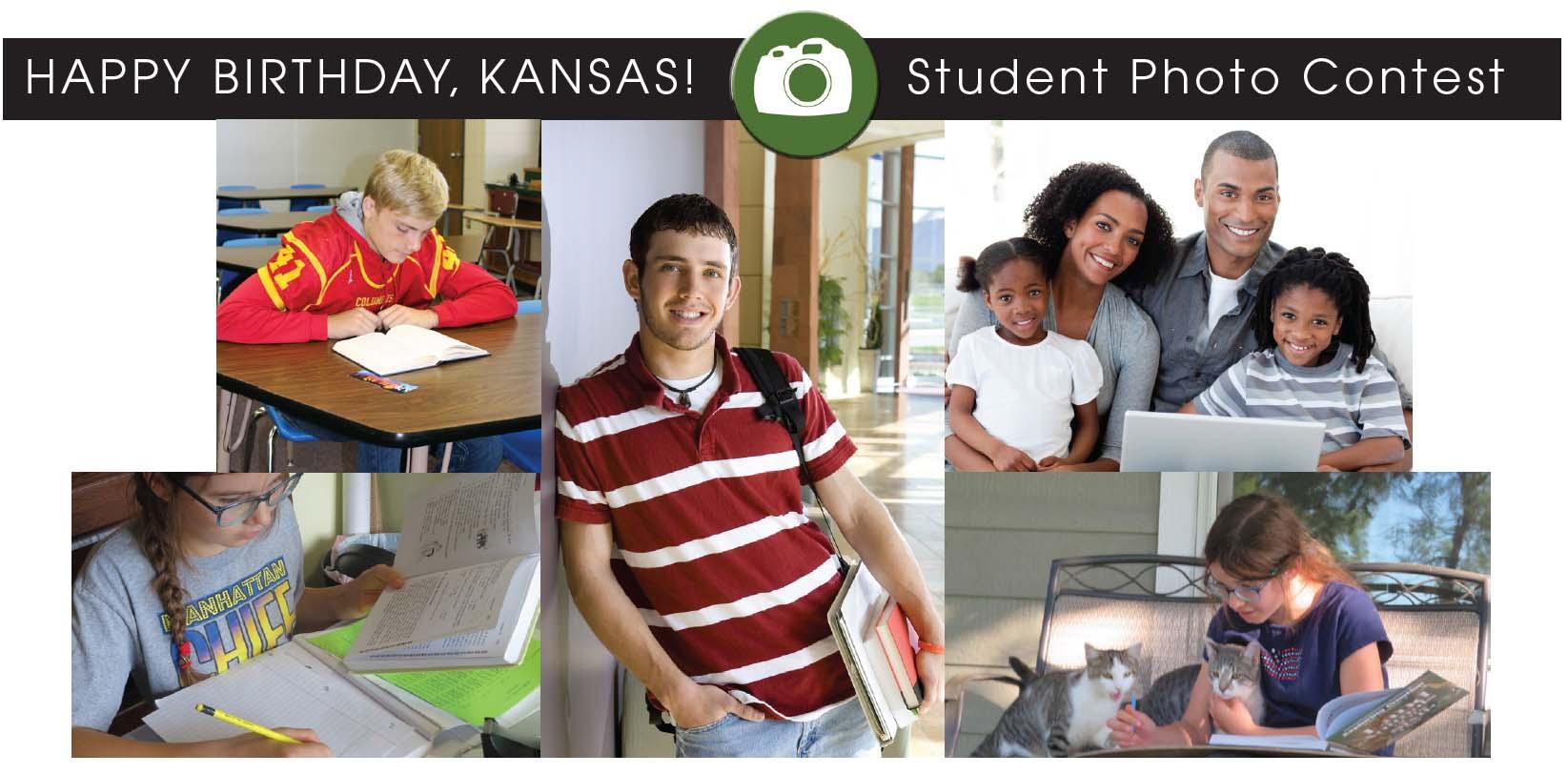 Happy Birthday, Kansas! student photo contest