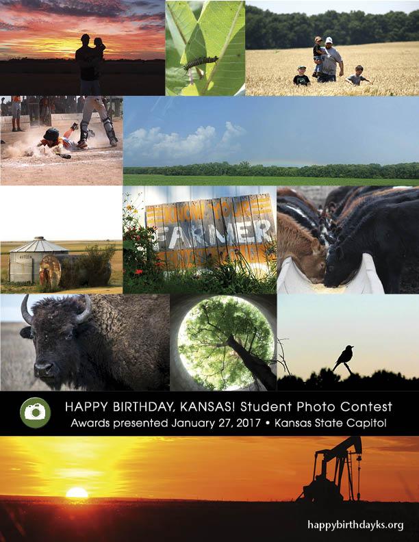Happy Birthday, Kansas! 2016 photo collage
