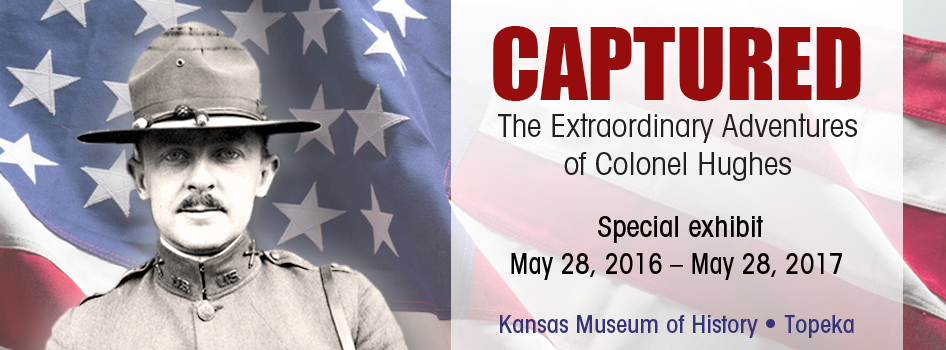 Captured: The Extraordinary Adventures of Colonel Hughes, opening May 28