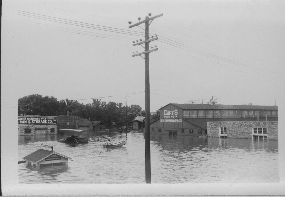 North Topeka Businesses Under Water From The Flood
