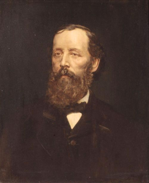 Portrait of Henry J. Adams