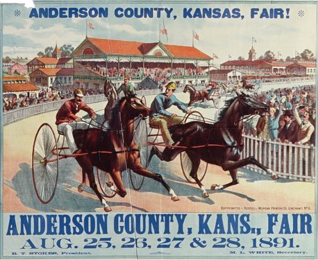 Anderson County fair poster