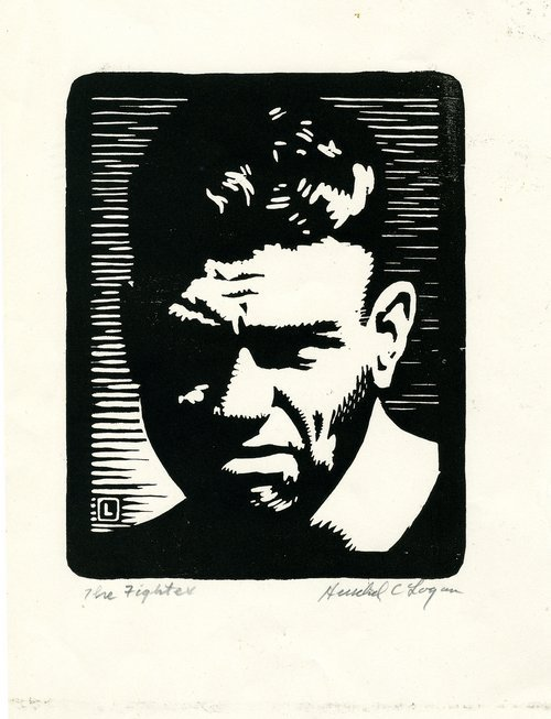 The Fighter (Jack Dempsey) by Herschel C. Logan