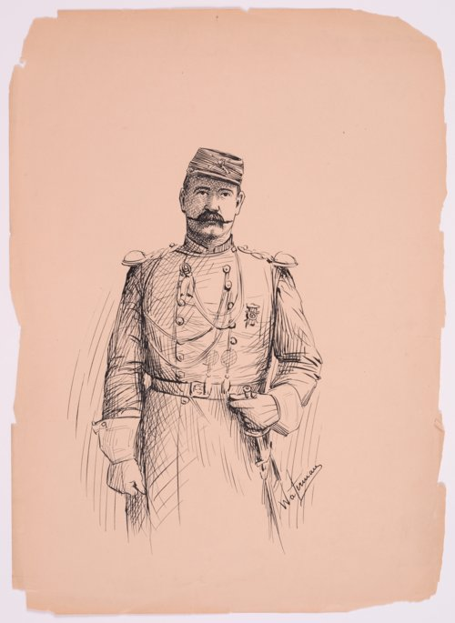 Military officer by Myron A. Waterman