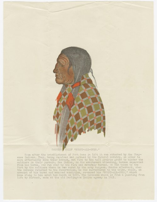 Cheyenne Chief Burnt-All-Over