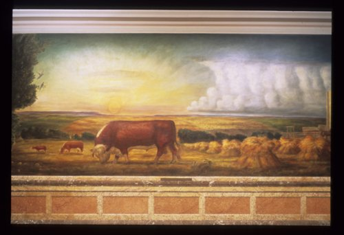 Kansas Pastoral by John Steuart Curry