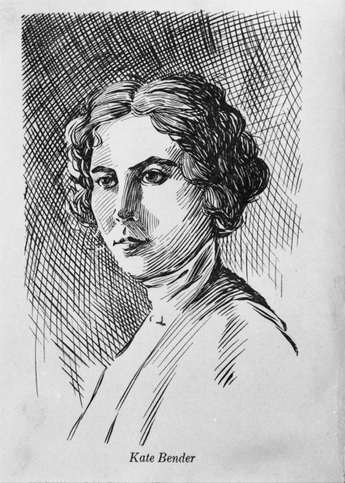 Sketch of Kate Bender