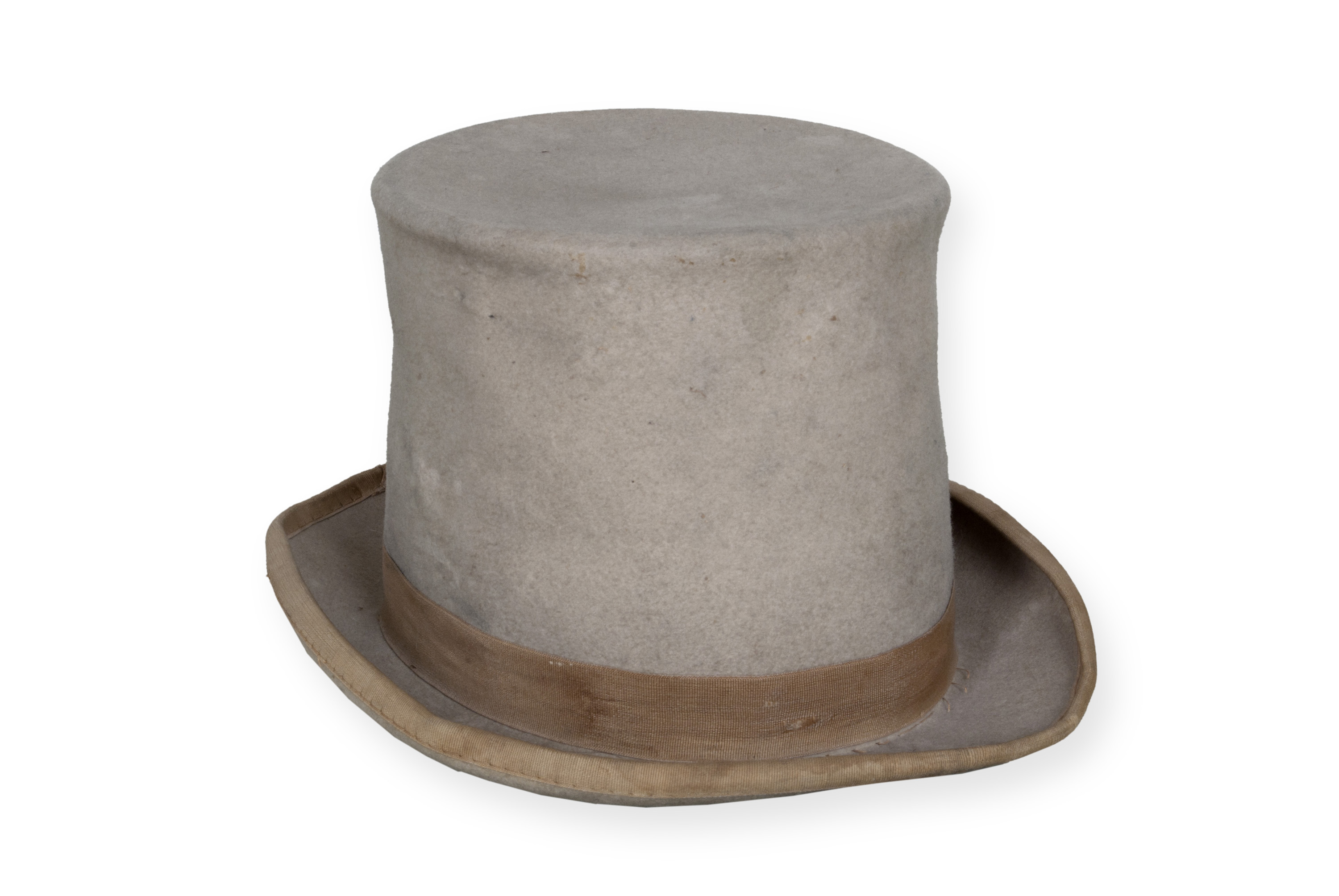 Hat from 1888 Benjamin Harrison presidential campaign