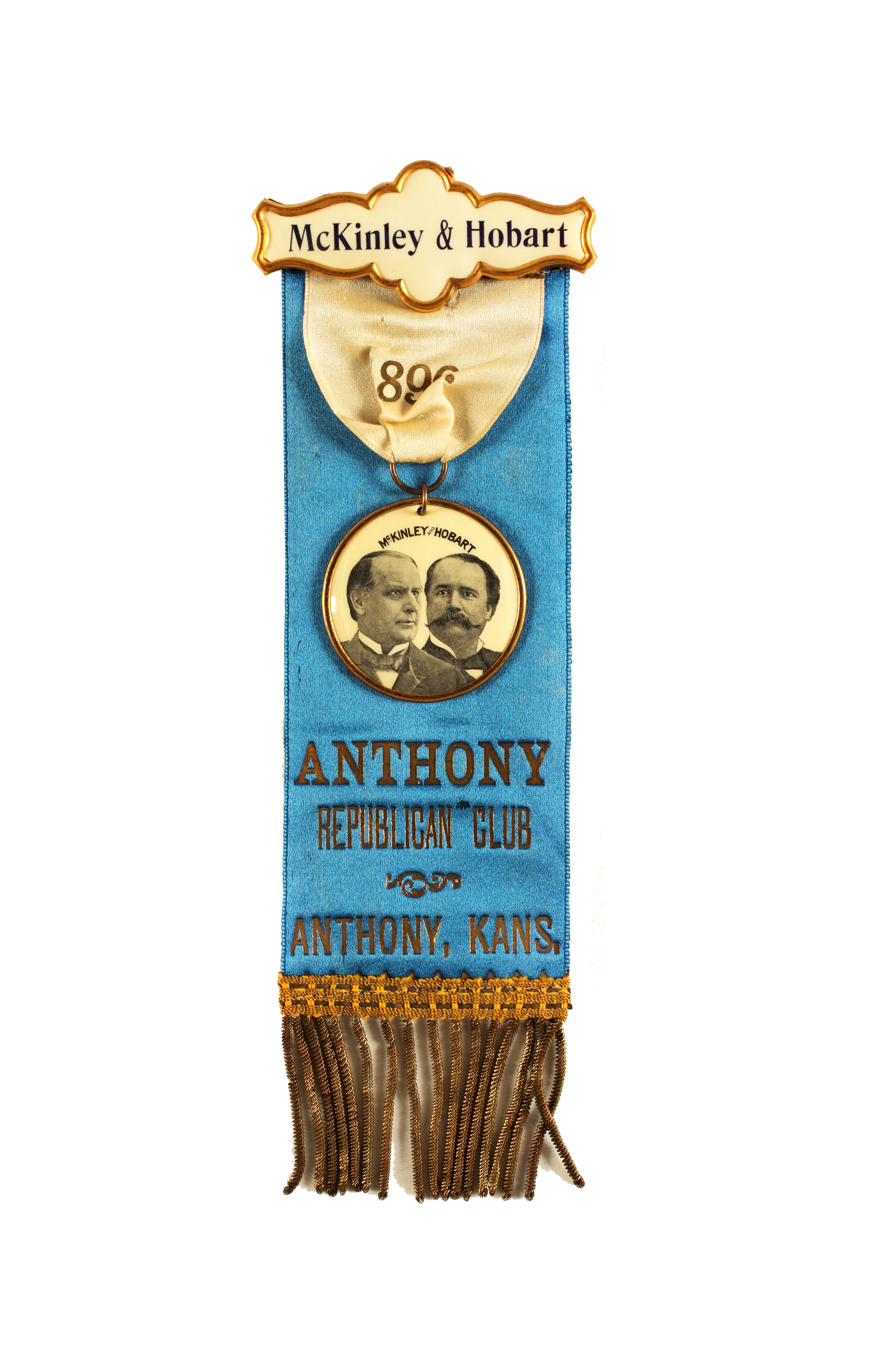 McKinley and Hobart ribbon