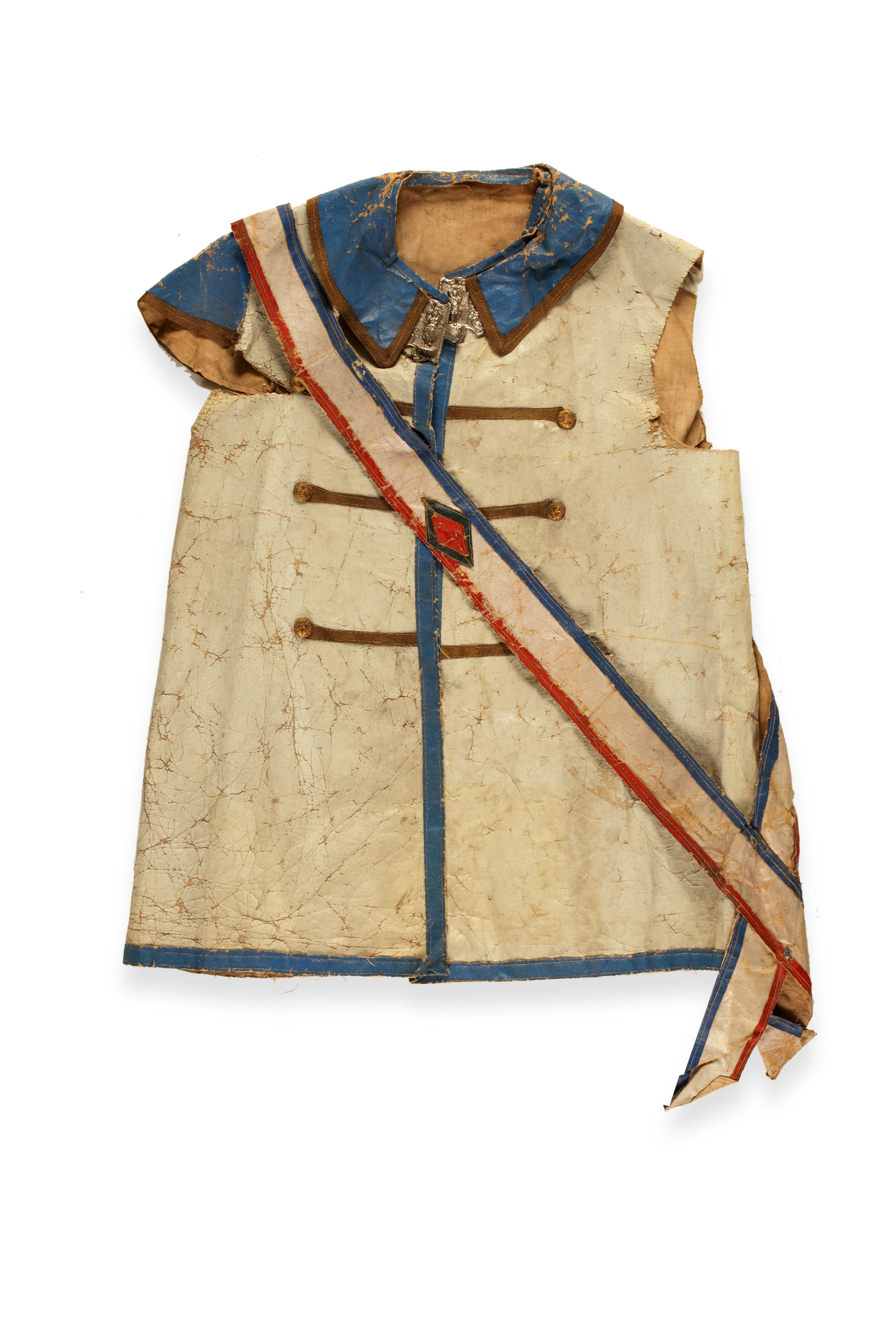 Jacket and sash for 1888 Benjamin Harrison campaign