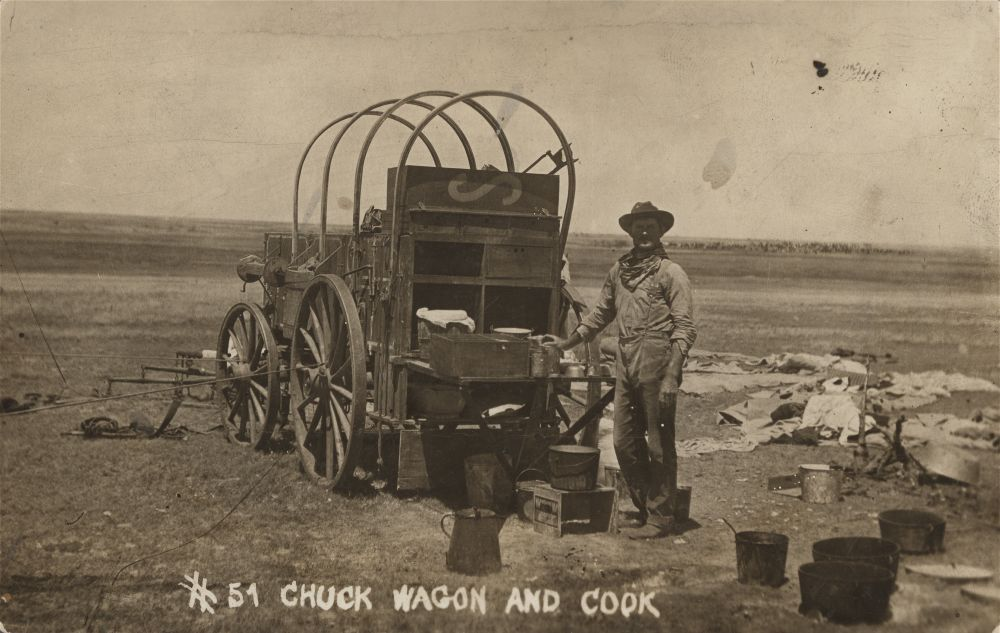 Cook and chuckwagon