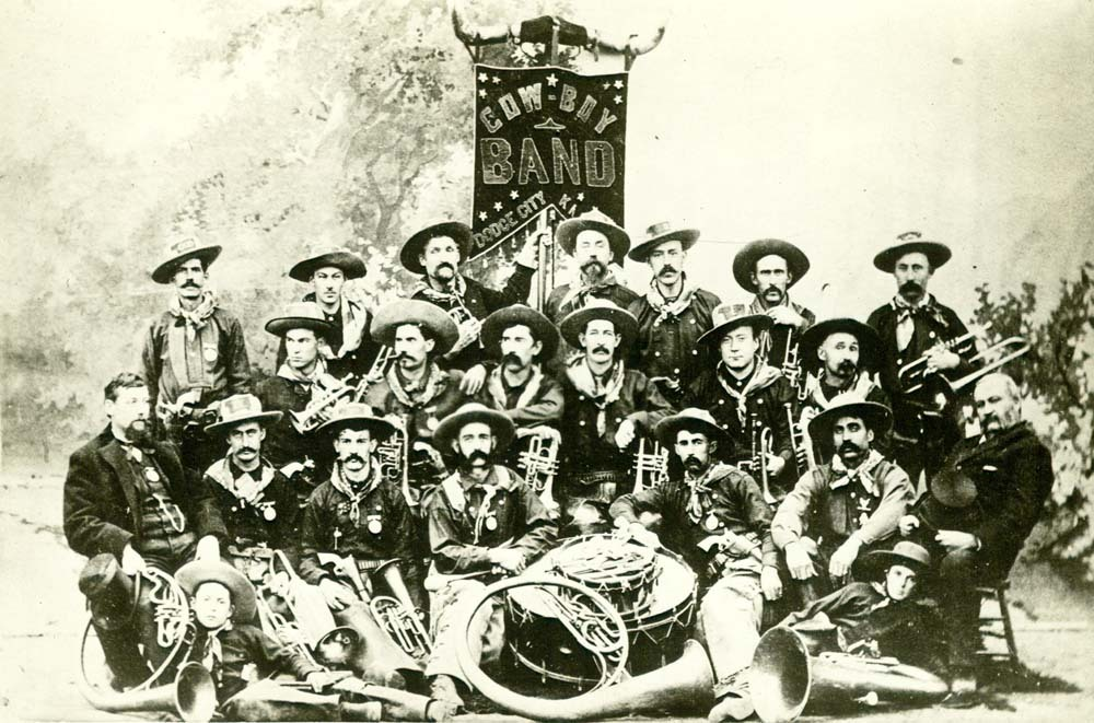 Dodge City Cowboy Band, 1886
