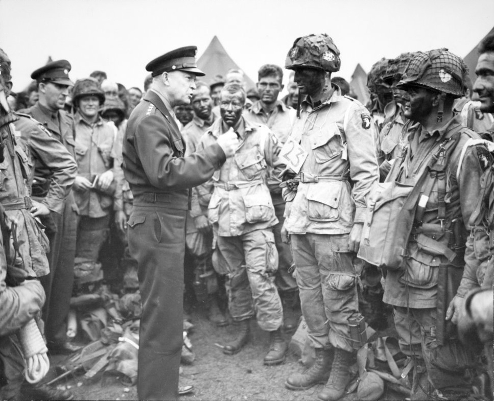 General Eisenhower during World War II