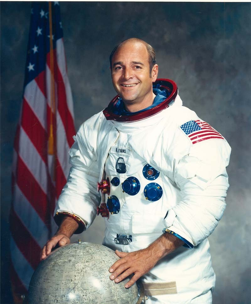 Portrait of Apollo astronaut Ron Evans, 1970s